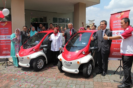 UPM launches ultra-compact electric vehicle